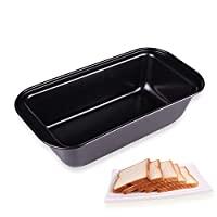 烤盘专业优质厚不粘碳钢烘焙工具碳钢不粘面包蛋糕烤盘烤盘烤盘烤盘烤盘烤盘烤盘长方形烤箱吐司盒面包盘 25*13*6CM