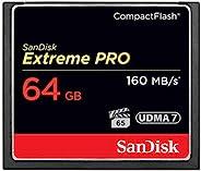 SanDisk 闪迪 Extreme Pro CompactFlash 存储卡 64GB(读取速度160MB/s)