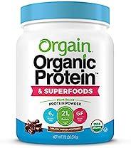 Orgain 蛋白粉,巧克力味,510g