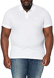 HUGO BOSS 男士Pallas短袖Polo衫,白色(白色 100),S