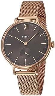 Fossil Kalya 三指针手表 Es4704 玫瑰金不锈钢网面 均码