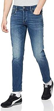 G-Star RAW 男士 3301 直筒锥形牛仔裤