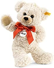 Steiff Lilly 悬挂泰迪熊毛绒玩具,奶油色,28 厘米