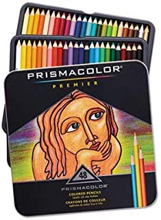 Premier 彩色木质铅笔,48 种颜色/套