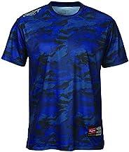 Rawlings 棒球 球队 T恤 迷彩图案 ATS9S01 藏青色 Medium