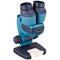 尼康 便携双筒实体显微镜 自然观测镜 咖啡色 (日本制)