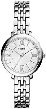 Fossil 女式 Jacqueline 迷你不锈钢正装石英手表