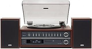 Teac MC-D800 (CH) 立体声组合家用音响 播放器/CD 系统(蓝牙、CD 播放器、USB、UKW/MW 调谐器、双路扬声器)木色