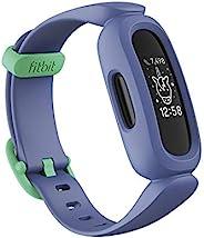 Fitbit Ace 3 儿童活动追踪器,带动画钟面,电池寿命长达 8 天,防水深度达 50 米