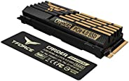 TEAMGROUP T-Force CARDEA A440 2TB DRAM SLC 缓存和石墨烯铜箔 3D NAND TLC NVMe PCIe Gen4 x4 M.2 2280 游戏内置 SSD 读/写 7,000/