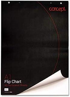 Premier 文具活动挂图/活动挂图,打孔,A1,40张