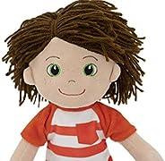 Playtime by Eimmie Soft Rag Doll - 14 英寸兒童*個嬰兒娃娃 - 毛絨嬰兒玩具 - 適合所有年齡段(Ollie)