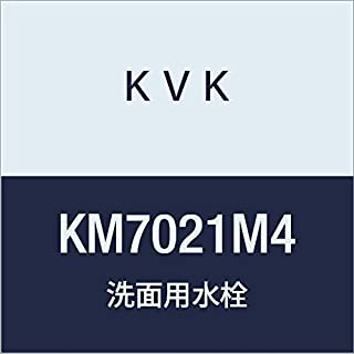 KVK 面条式单把手混合水龙头 白色 KM7021M4