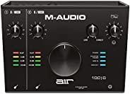 M-Audio AIR 192|6 - 2 输入/2 输出 USB 音频 / MIDI 接口,带 Pro-Tools 和 Ableton Live 录音软件,以及工作室级 FX 和虚拟仪器