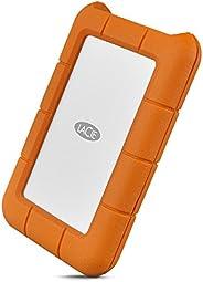 LaCie Rugged 莱斯 USB 3.0 迷你磁盘便携式硬盘 1TB