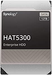 "Synology HAT5300-12T [12TB 3.5"" SATA 7,200rpm / 企业级HDD(MTTF250万小时) / 5年保修] 国内正规"