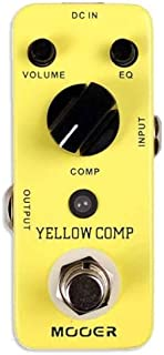 Mooer MCS2 黄色压缩效果踏板