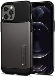 Spigen 超薄盔甲专为 iPhone 12 设计 (2020) / 专为 iPhone 12 Pro 手机壳(2020) 设计 - 青铜色