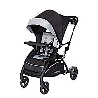 日本育兒 babytrend 嬰兒車 便攜支架 智能RIDE (月相集塵) 可自行站立 3種模式使用的2座嬰兒車 6個月~