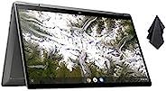 2021 *新的 HP x360 2 合 1 14 英寸 FHD 触摸屏 Chromebook,* 10 代 Intel Core 英特尔酷睿 i3-10110U,8GB 内存,64GB eMMC,WiFi 6,背光键盘