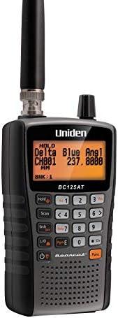 Uniden Bearcat 手持式扫描仪收音机 BC125AT