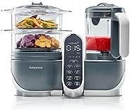 Babymoov Nutribaby Plus – 婴儿辅食机 蒸锅 搅拌机 * 加热 2200 毫升容量 灰色
