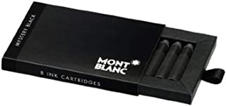 Montblanc 神秘黑色钢笔墨盒,每包 8 支(2 包)