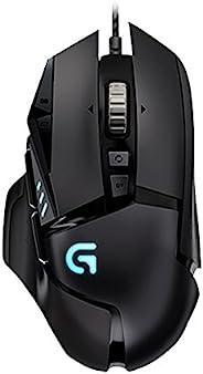 Logitech 罗技 G502 炫光自适应游戏鼠标 RGB鼠标 (新版)