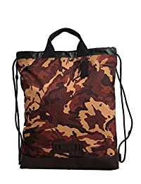 Coach 蔻驰男式地形拉绳修身背包,QB 锈色迷彩,款式 F76784。