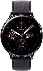Samsung 三星 Galaxy Watch Active 2(44MM,GPS,蓝牙,无锁 LTE)智能手表,带高级*监控,健身追踪,持久电池 - 水黑色 - (美国版)