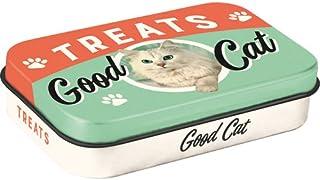 Nostalgic-Art 82205 Good Cat Treats 锡制食盒,也可用于外出使用