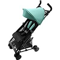 Britax R?mer 寶得適 HOLIDAY2 嬰兒車 (6個月至3歲 至15公斤) 可折疊,水綠色