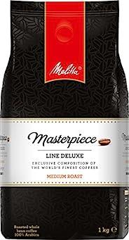 Melitta 咖啡全豆 亚马逊专版,稀有咖啡,纯阿拉比卡咖啡豆,浓郁而均衡,中度烘焙(Medium roast),豪华杰作系列,1000g
