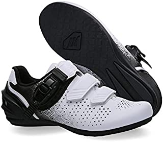 Santic 女式骑行鞋,公路自行车鞋,透气旋转鞋,女式自行车鞋,带搭扣 Diana