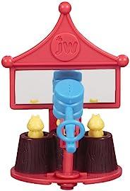 JW Pet Company Activitoy Peck-A-Mole 小鸟玩具,颜色随机