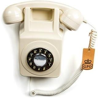 GPO 746 按钮复古 Phone_pGPO746WM Ivory 象牙色