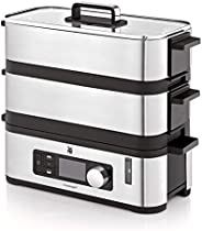 WMF 福騰寶 KüCHEN minis 蒸鍋(2個可單獨調節的烹飪格,每個2.15升,保溫功能和芳香增強功能)