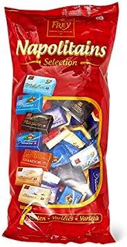 Frey 1kg Napolitains Selection Schokolade Mischbeutel - Mini Schokoladentafeln aus 7 Sorten - Schweizer Mini S