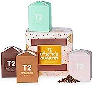 T2 Tea - Baker's Quartet Limited Edition Gift Set ( 4 x Loose Leaf Feature Cu