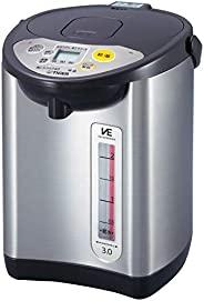 TIGER 虎牌 电热水壶 棕色 节省蒸汽 节电定时器 VE 保温 TOKUKO SAN  3L PIL-A300-T