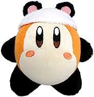 Little Buddy Kirby's Adventure All Star 系列-Waddle Dee Panda 毛绒玩具,5.