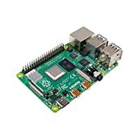Raspberry Pi 4 型號 B 2019 四核 64 位 WiFi 藍牙(4GB)