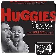 HUGGIES Economy Plus Pack 4 100