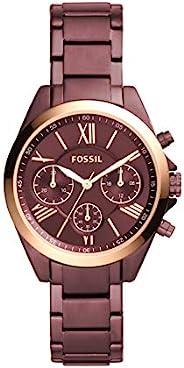 Fossil 女式现代 Courier 不锈钢计时正装石英手表