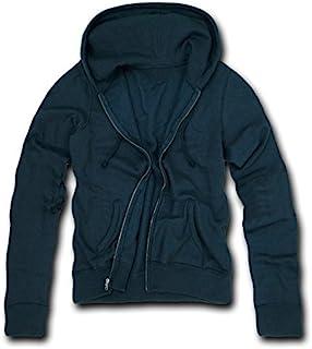 DECKY Navy Blue Classic fit full zip hoodie