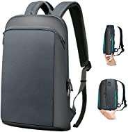 ZINZ 超薄可扩展 15 15.6 16 英寸旅行笔记本电脑背包大容量背包大学书包男女适用