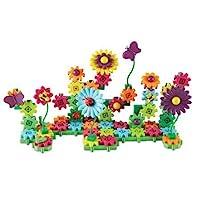 Learning Resources 齒輪!齒輪!齒輪! Build&Bloom建筑套裝,STEM學習玩具,116件,4歲以上