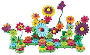 Learning Resources 齿轮!齿轮!齿轮! Build&Bloom建筑套装,STEM学习玩具,116件,4岁以上