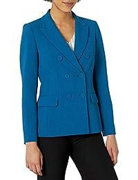 Tahari ASL 女式双排扣夹克,带盖口袋