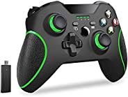Usergaing Xbox 无线控制器兼容 Xbox One/Xbox Series X/S/Xbox One S/Xbox One X 控制台/One Elite/Windows 7/8/10/PS3 带 2.4GH